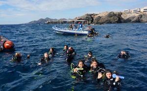 Cabo de Palos lidera el deporte submarino