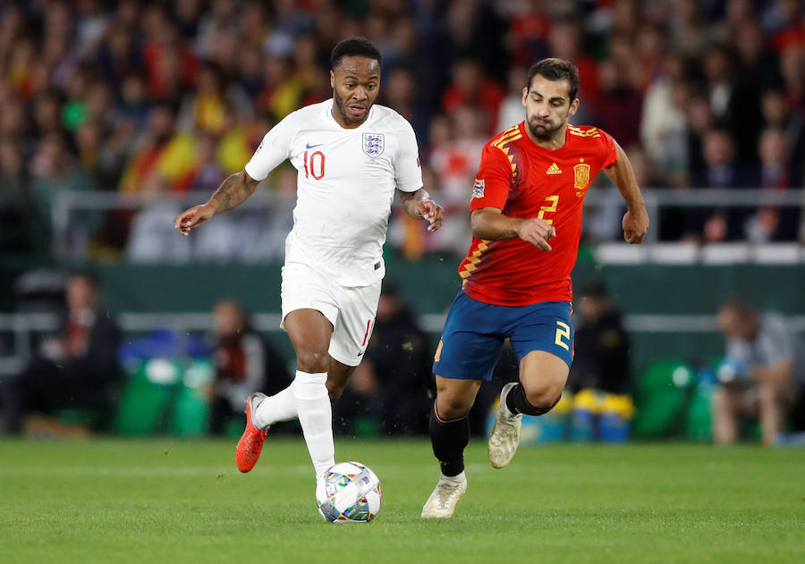 Las mejores imágenes del España-Inglaterra