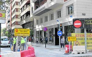 Solo residentes, taxistas y coches de emergencias podrán acceder a Alfonso X