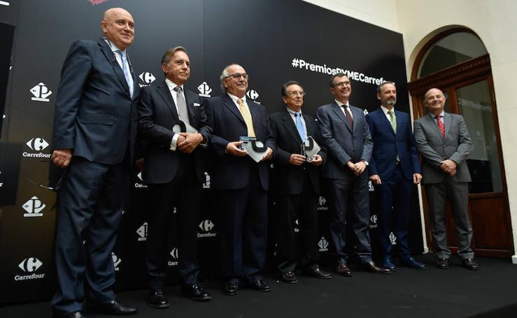 Entrega de los premios Pyme Carrefour 2018