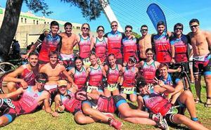 El triatlón cala en Murcia y Águilas