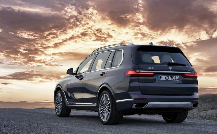 BMW X7, tope de la gama