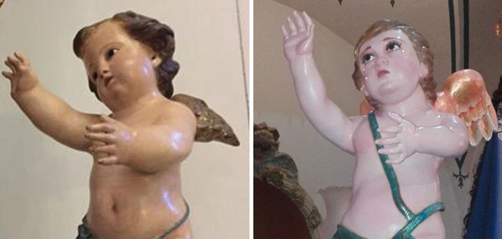 La polémica 'réplica' del ángel de San Roque de El Palmar