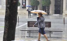 Meteorología prevé lluvias de hasta cien litros en doce horas a partir de mañana