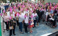 Murcia se tiñe de rosa