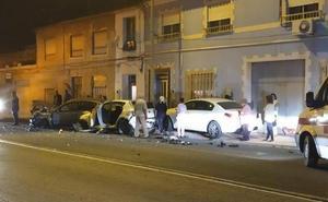 La colisión de dos coches deja tres heridos en Nonduermas