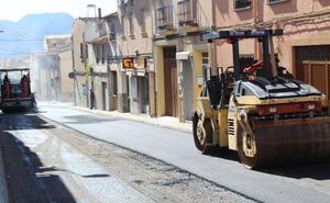 El plan de asfaltado de este año en Jumilla incluye una quincena de calles