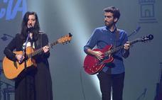 Laura Uve, ganadora del CreaMurcia en la modalidad de 'Canción de Autor'