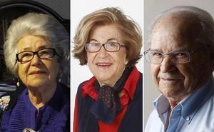 Tres poetas aliados con la eternidad