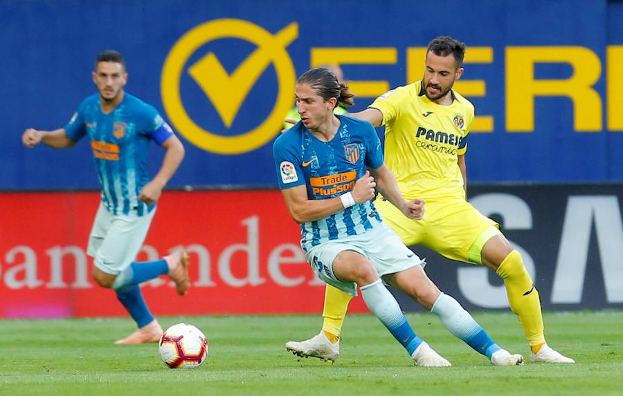 Las mejores imágenes del Villarreal-Atlético de Madrid