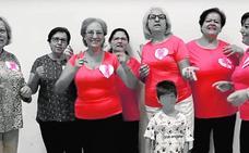 Las mujeres de Sangonera la Verde bailan contra el cáncer