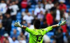 La gran parada de Oier en la falta botada por Bale