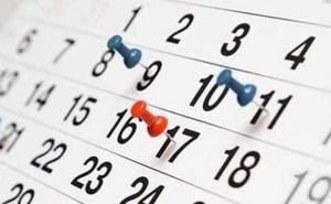 El Calendario Laboral 2019 en Murcia ya es oficial: puentes, festivos y días no laborables