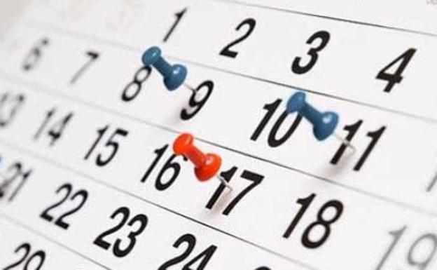 Calendario Laboral 2019 Andalucia.Calendario Laboral 2019 Festivos Y Puentes La Verdad