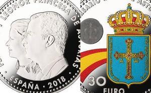 La moneda de 30 euros que circula desde hoy en España