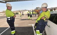 Desalojan la planta de residuos de Lorca por una granada