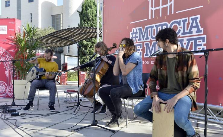 Presentació del evento #Murciasemueve