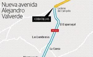 La carretera de Alicante pasará a ser la avenida Alejandro Valverde