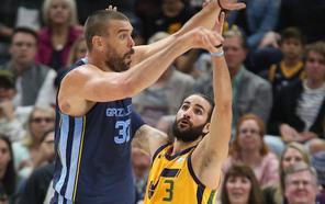 Marc Gasol aporta un 'doble-doble' y los Grizzlies ganan a los Jazz de Ricky Rubio