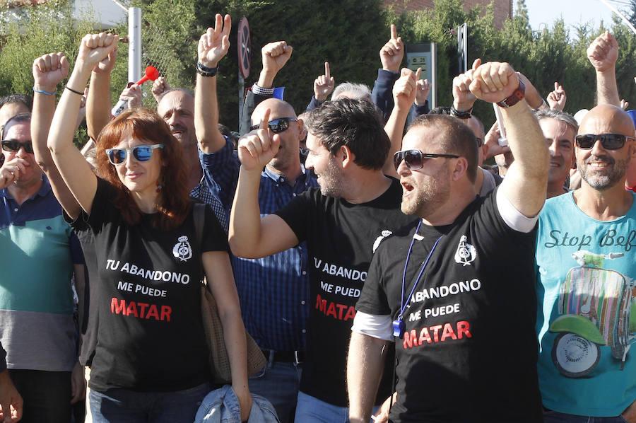 Las prisiones murcianas encabezan el seguimiento de la huelga