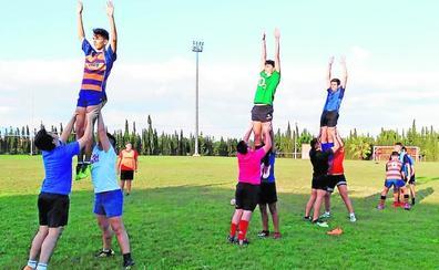 El rugby arraiga en Las Torres de Cotillas