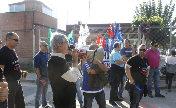 Huelga de los funcionarios de prisiones en la Región