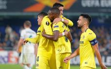 El Villarreal arrolla al Rapid de Viena
