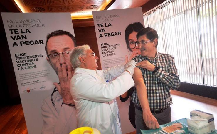 La campaña de la gripe arranca en la Región el próximo lunes
