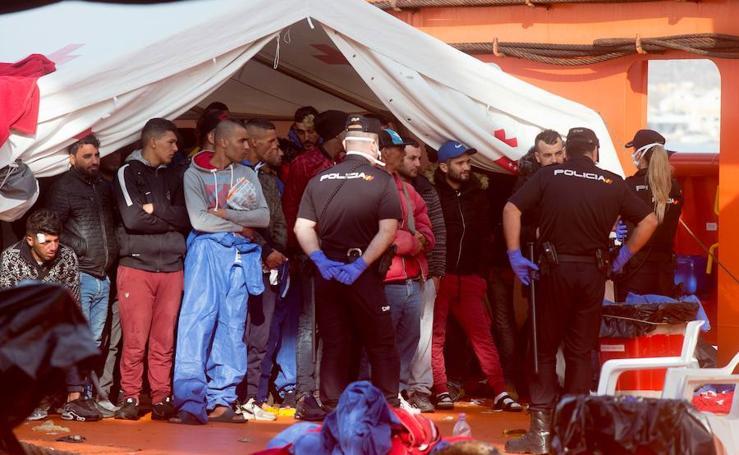 Ascienden a 275 los inmigrantes interceptados en las costas de Murcia entre ayer y hoy