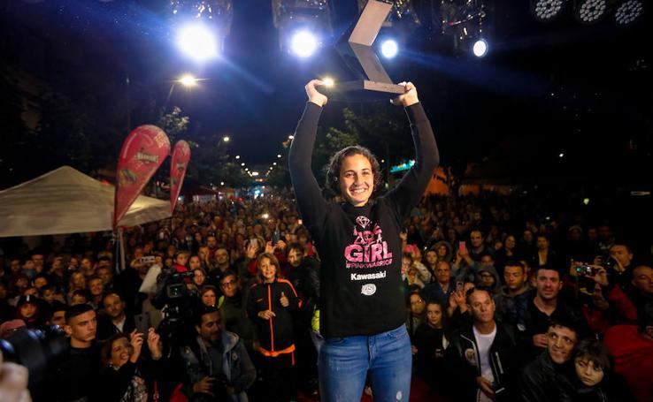 Cehegín recibe a Ana Carrasco con un gran homenaje