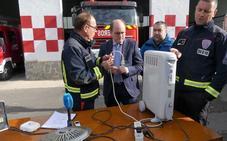Los consejos de los bomberos murcianos para evitar sustos con la calefacción durante el invierno