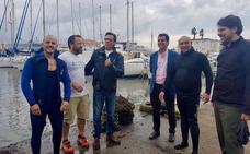 50 buceadores voluntarios limpian los fondos marinos del puerto de Cabo de Palos