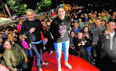 Cehegín arropa a la campeona Ana Carrasco