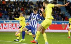 Calleri y Bastón personifican la fe del Alavés para remontar ante el Villarreal