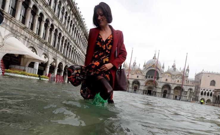 Agua y agua en Venecia
