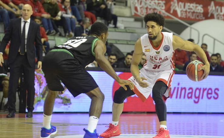 El UCAM Murcia derrota al Sidigas Avellino