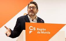 Ciudadanos negociará con López Miras el Presupuesto de 2019, pero con un «tinte naranja»