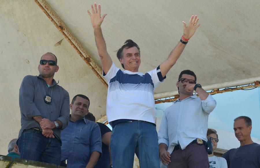 Bolsonaro quiere trasladar a Jerusalén la Embajada de Brasil
