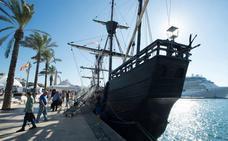 Una réplica del primer navío que dio la vuelta al mundo atracará en el puerto
