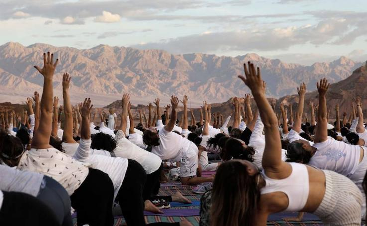 Festival de yoga en Israel