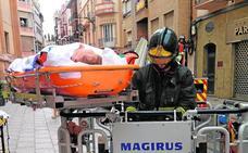 Los rescates de ancianos heridos que viven solos se triplican en los últimos 5 años