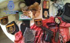 Cae una banda que asaltaba las viviendas de otros traficantes disfrazados de policías