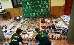 Detenidos en Murcia por pertenecer a una red criminal que vendía piezas arqueológicas en internet