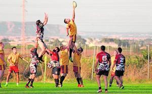 El XV Rugby Murcia toma el mando