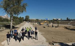 'Murcia Río' dotará a la ciudad de un 'pulmón' con más de 1.500 palmeras, álamos y frutales