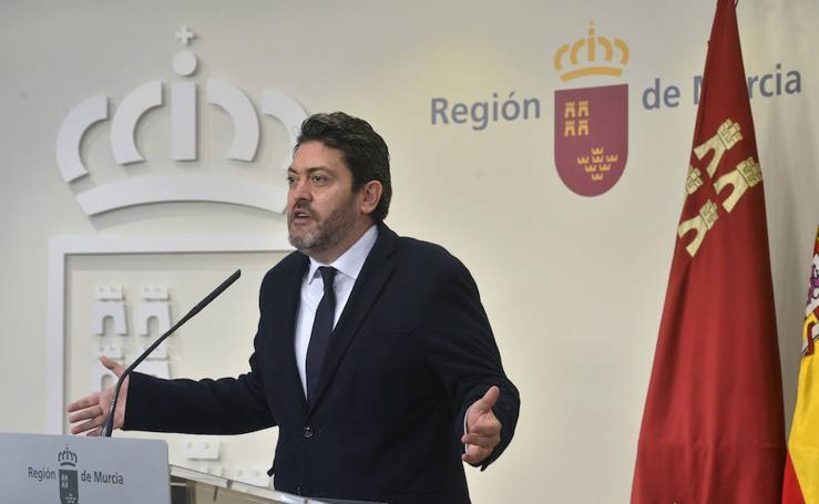 Gobierno regional y Cs escenifican su próximo acuerdo de Presupuestos
