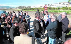 Las cooperativas agrícolas de Lorca se suman a la petición de un paso soterrado en Tercia