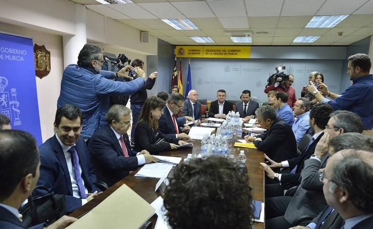 Conesa admite que el AVE podría llegar soterrado al Carmen a partir de 2021