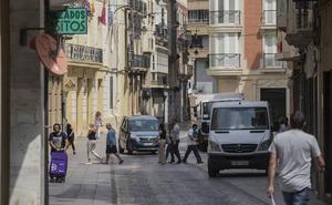 Piden no ir en coche al centro de Cartagena a partir de este jueves por los cortes de tráfico
