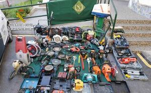 La Guardia Civil detiene a una persona que vendía herramientas supuestamente sustraídas